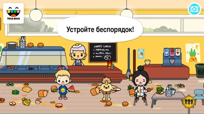 Screenshot for Toca Life: School in Russian Federation App Store
