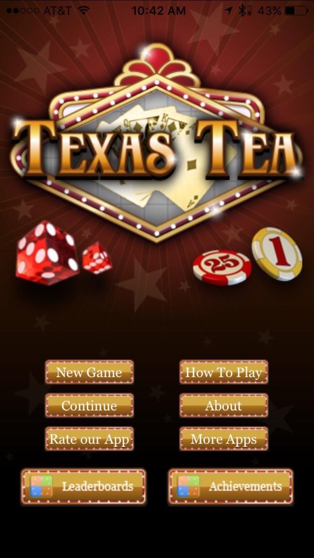 Texas Tea review screenshots