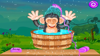 Baby Chimpanzee Salon screenshot three