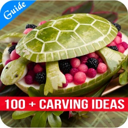 100 + Carving Ideas - Tips for Carving Flowers from Vegetables