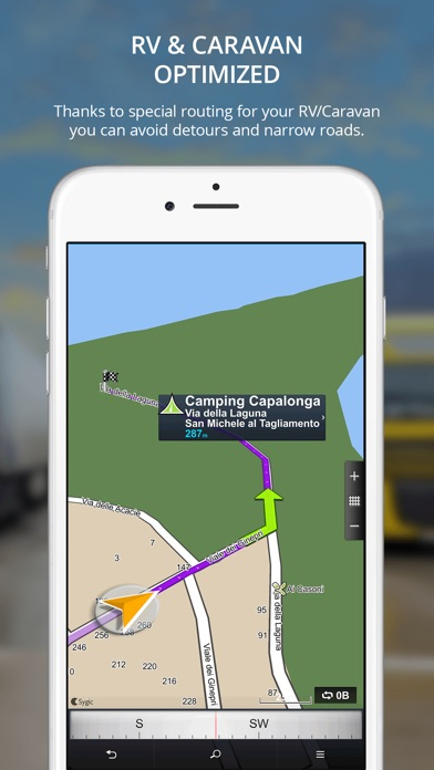 Screenshot #6 for Sygic Truck GPS Navigation