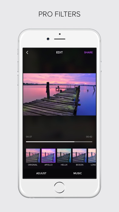 Moonlight-Video Editor By InstaSize Screenshot on iOS