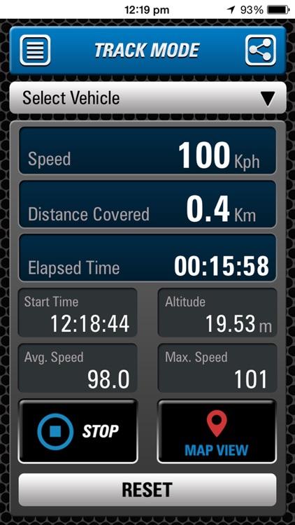 Speedometer Race & Track screenshot-3
