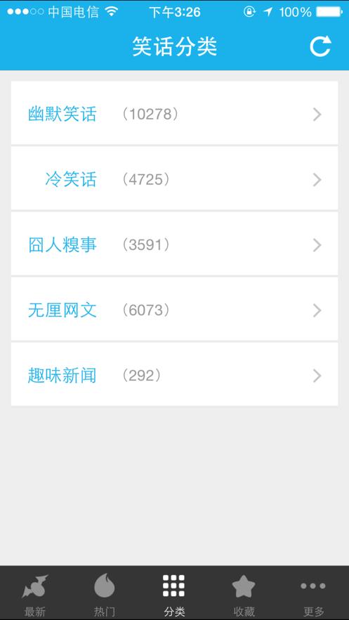 笑话大全(来福讲笑话) App 截图