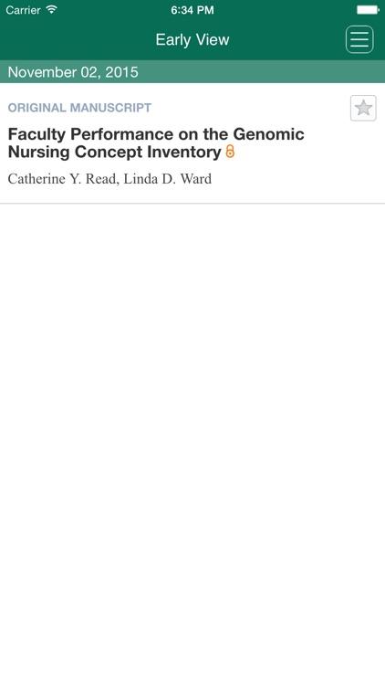 Journal of Nursing Scholarship App screenshot-4