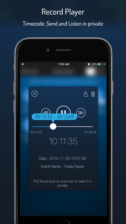 Q-Recorder Pro - Voice Recorder screenshot-3