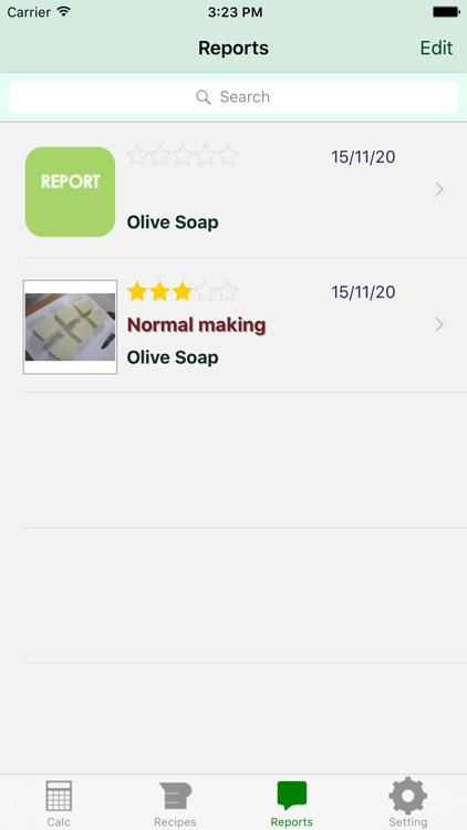 Handmade Soap Calculator screenshot-3