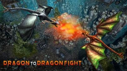 ドラゴンフューリーシミュレータ3D - 捕食者の復讐のフライトシミュレーションゲームのスクリーンショット3