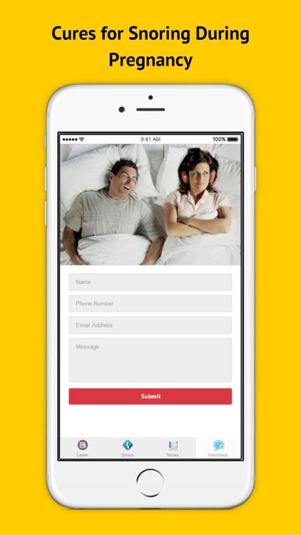 How to Stop Snoring - Snoring Remedies That Work screenshot-3