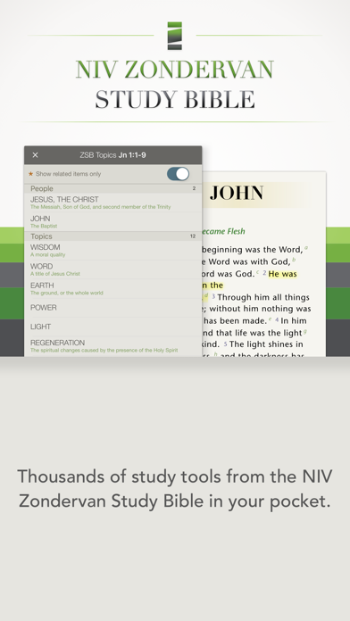 NIV Zondervan Study Bible App Profile  Reviews, Videos and More
