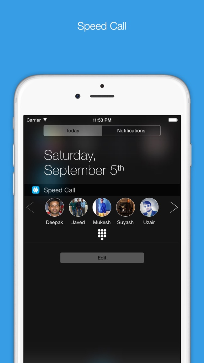 Orby Widgets - To Make Notification Center Even More Useful Screenshot