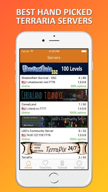 Multiplayer Servers for Terraria by Bharatkumar Manvar