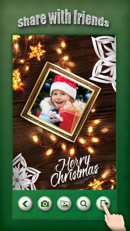 Christmas Photo Collage & Cards Maker Pro - Mail Thank You & Send Wishes with Greeting Quotes Stickers screenshot-4