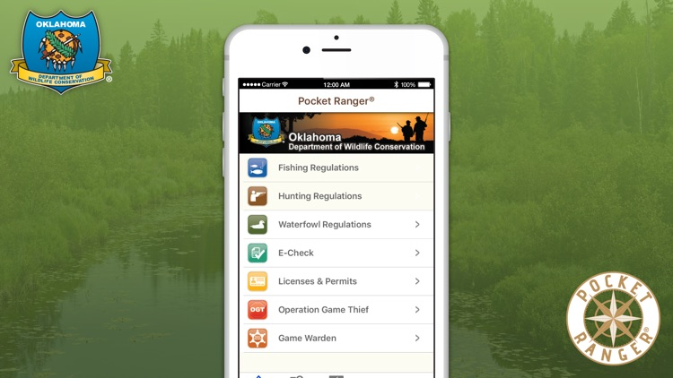 Oklahoma Fishing, Hunting & Wildlife Guide- Pocket Ranger®