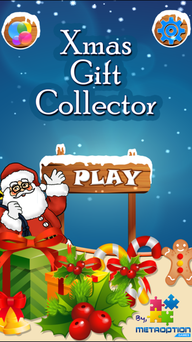 Xmas Gift Collector - The Winter Adventure screenshot one