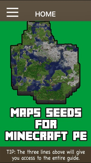 Maps Seeds For Minecraft Pocket Edition on the App Store