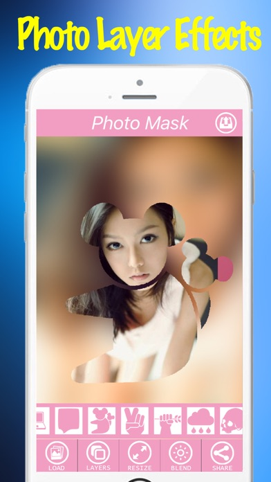 Photo Layer Effects Free App - Mask charlotte Filter Effect On Camera Photos-2