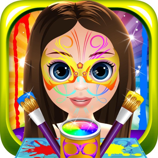 Baby Face Skin Paint Doctor - play a little make-up fashion salon makeover game for kids
