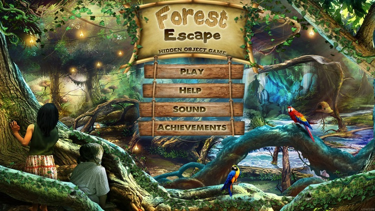 Forest Escape Hidden Object