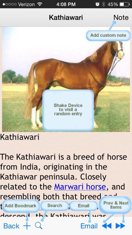 Horse & Pony Encyclopedia screenshot-3