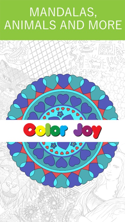 Mandala Coloring Book - Game for Adults screenshot-0