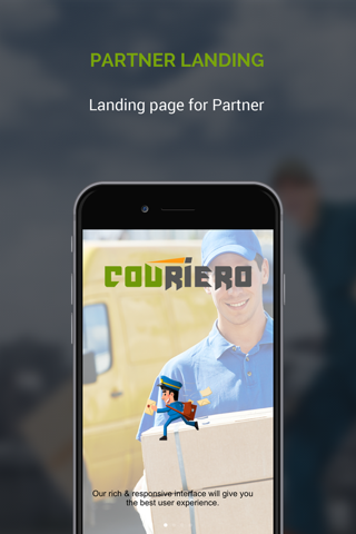 Couriero Partner screenshot 1