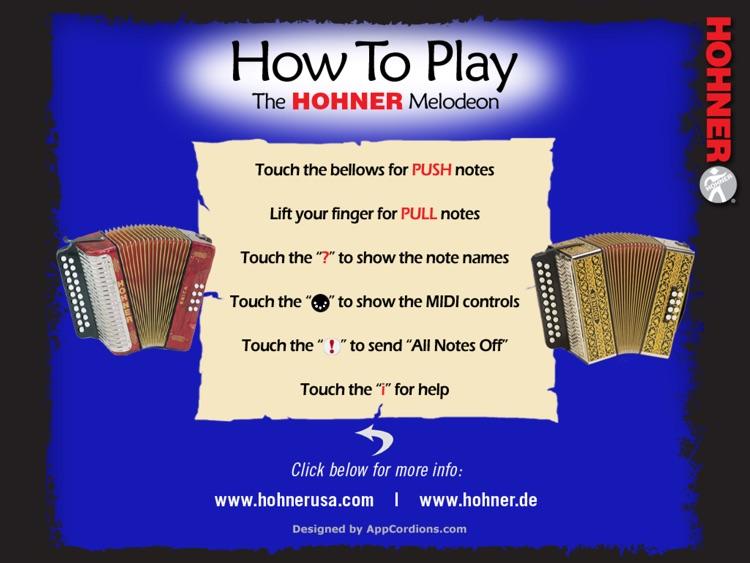 Hohner MIDI Melodeon screenshot-4