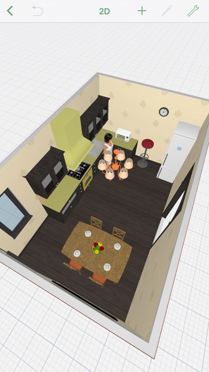 Kitchen Planner By Planner 5d Llc