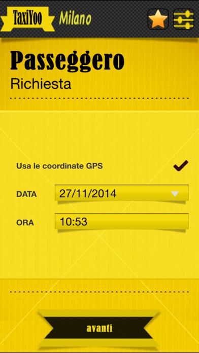 Screenshot of TaxiYoo Milano4