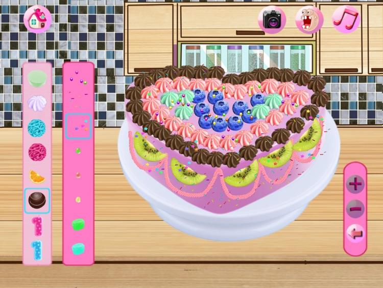 Cream Cake Maker:Juice Cookie.