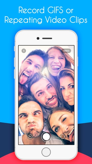 Piku Piku - Make Gifs & Videos with Filter Camera Screenshot