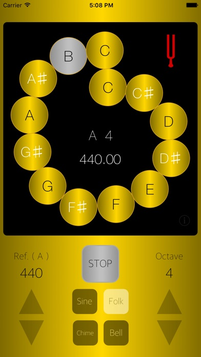 Tuning Oscillator ONSA - Tone Generator for Vocal and Instruments