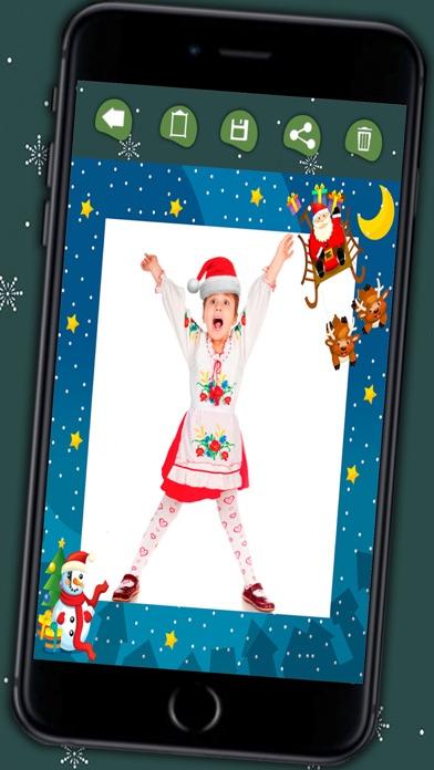 Marcos De Fotos De Navidad Para Los Ninos Editor De Fotos Para - Crear-tarjetas-de-navidad
