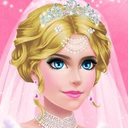 Princess Wedding - Royal Salon: Spa, Makeup & Dress Up Makeover Game for Girls