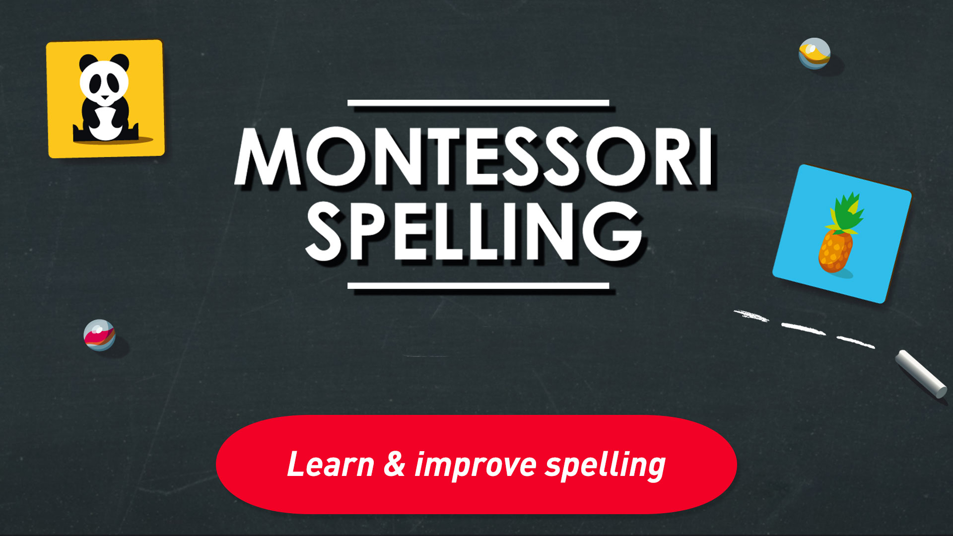 Montessori Spelling - From sounding-out to writing screenshot 1
