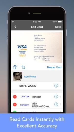 Cardwiz pro business card reader scanner on the app store cardwiz pro business card reader scanner on the app store reheart Images