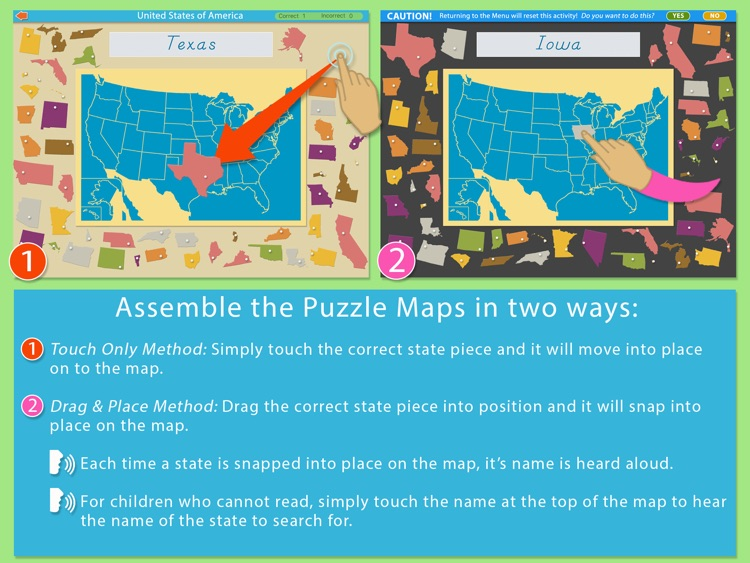 United States Of America LITE - A Montessori Approach To Geography screenshot-3