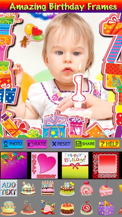 Happy Birthday Cards and Stickers