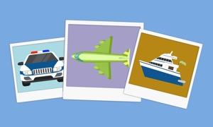 Transport Flashcards For Kids