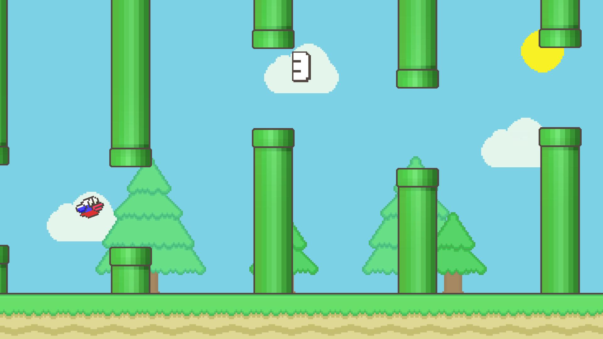 Flappy Family Bird Arcade screenshot 14