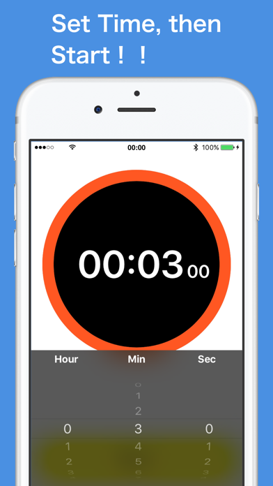 Simple Timer - for iPhone screenshot two