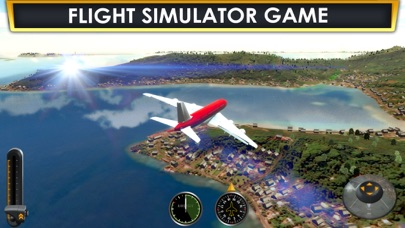 Screenshot from Plane Flying Parking Sim a Real Airplane Driving Test Run Simulator Racing Games