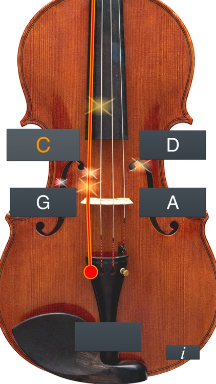 Viola Tuner Simple screenshot-2