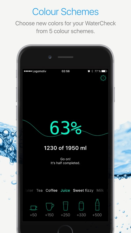 Watercheck – smart water balance tracker! screenshot-4