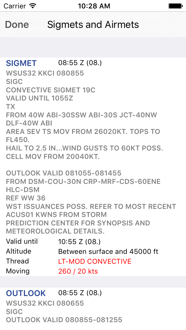 Sky MET - Aviation Meteoのおすすめ画像4