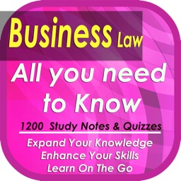 Business Law: 1200 study notes & quizzes
