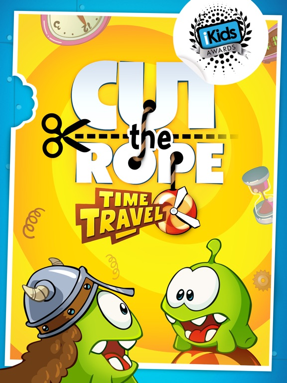 Cut the Rope: Time Travel HD на iPad