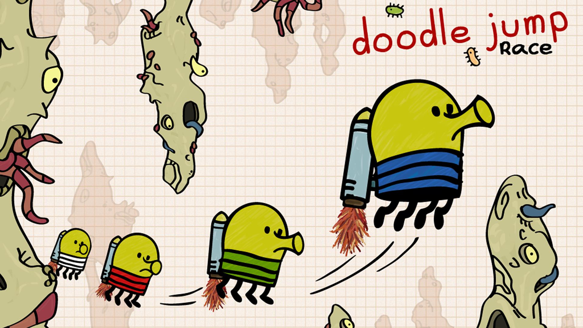 Doodle Jump Race screenshot 9