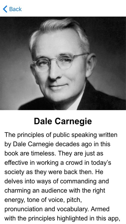 Art of Public Speaking by Dale Carnegie Audiobook app accelerated learning program, from Hero Notes