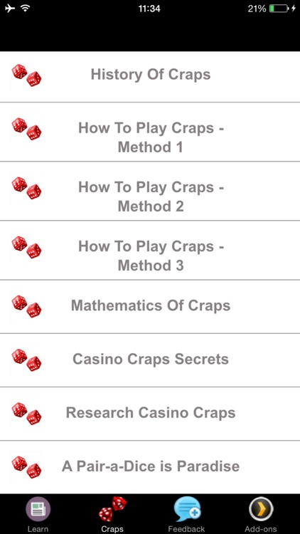 Craps - A Beginners Guide to Craps